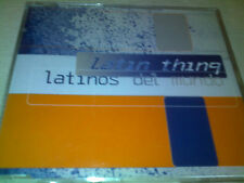 LATIN THING - LATINOS DEL MUNDO - 1997 HOUSE CD SINGLE