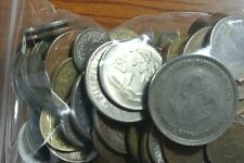 BULK LOT OF 100 ASSORTED FOREIGN COINS