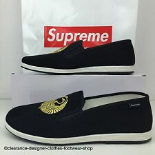 SUPREME SLIP ON SHOE TRAINER SASQUATCH FABRIX CRANE SLIP ON BEACH SHOE UK 10