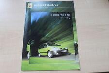 89270) Renault Megane Scenic Fairway Prospekt 09/2000