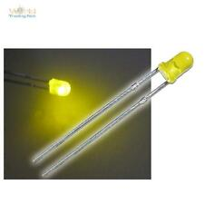 10 LEDs 3mm diffus BLINKEND Gelb FLASHING Signalleuchte