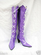 Sailor Moon Tomoe Hotaru Cosplay SHOE BOOT Custom Made