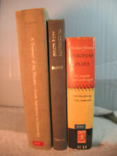 lot 3 old books art of acting sixteen famous European Plays Treasury the Theatre