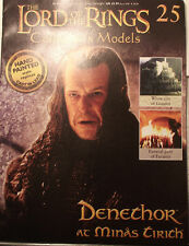 Denethor at Minas Tirith. Model & magazine. Eaglemoss. Issue 25 (G276)
