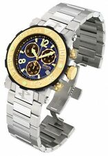 Invicta 6136 Reserve Men's Sea Rover Blue Dial Swiss Chronograph Bracelet Watch