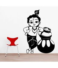 Asmi Collections PVC Wall Stickers Beautiful Baal Krishna …