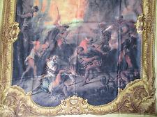 -Superbe châle GIANFRANCO FERRÉ   140 x 160 cm soie mousseline NEUF  vintage