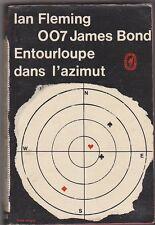 Ian Fleming - Entourloupe dans l'azimut - 1965 poche. état d'usage