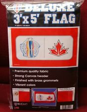 TEAM CANADA WORLD CUP OF HOCKEY 2016 TORONTO 3'X5' DELUXE FLAG NEW WINCRAFT
