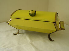 Genuine 1950's Anchor Hocking Fire King Chafing Dish Food Warmer Tray