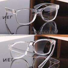 Fashion White Eyeglass Frame Vintage Transparent Clear Glasses Plain Men Women