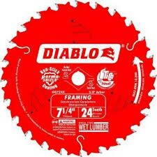 "Diablo Saw Blade  7-1/4"" x 24T Diablo Carbide Framing 10PK"