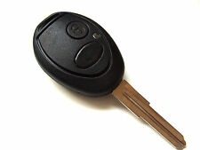Landrover Discovery 2 Button Remote Key Fob Case/Blank Left Blade Key
