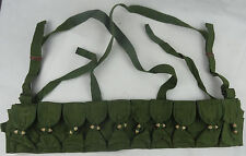 Surplus Chinese Military SKS Type 56 Semi Ammo Chest-Rig Bandolier Pouch