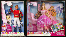 Sugarplum Princess Barbie Doll Prince Eric Ken Nutcracker Ballet Book Ballerina""