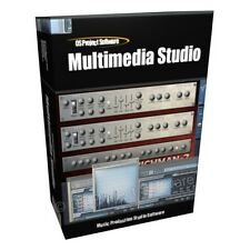 Multimedia Studio Music Production Sampler Software Application Program