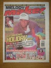 MELODY MAKER 1999 JUL 24 IBIZA BLUR CHEMICAL BROS REEF