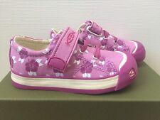 KEEN Kids Coronado Print Sneakers 8 Toddler Purple/White Flowers Canvas Shoes