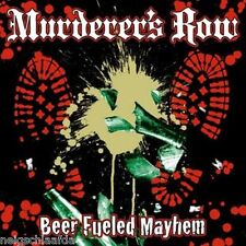 MURDERER'S ROW - BEER FUELED MAYHEM LP weiß 300 Ex.