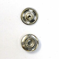 New Sew-On Snaps Size:10mm 144 sets package, Color: Silver, Fast Shipping