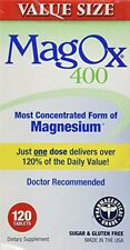 MagOx 400 Magnesium Oxide Dietary Supplement 120 Tablets