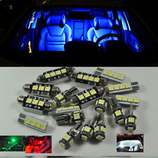 Blue 12 LED Interior number plate Lights kit For Porsche 911 996 1998-2005