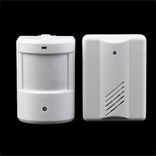 Wireless Infrared IR Monitor Sensor Detector Entry Door Bell Chime Alarm New SY