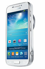 New Samsung Galaxy S4 Zoom SM-C105 16MP 4G (FACTORY UNLOCKED) 8GB White Phone