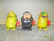 3 VINTAGE 1970S UNIVERSAL MONSTERS WIND UP SPARKLERS GODZILLA CREATURE KING KONG