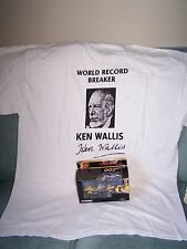 James Bond-Ken Wallace Signed Tee-Shirt and Little Nellie Gyrocopter.