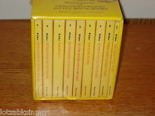 Yellow Complete Set Little House Books NEW Boxed NIP Sealed Laura Ingalls Wilder
