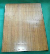 Dollhouse, wooden prepunched roof shingles/8 sheets cardboard/Britisch
