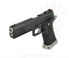 ARMORER WORKS HX1002 Split Black Slide Airsoft Softair 1911 GBB Pistol