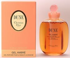 100%AUTHENTIC BNISB RARE DIOR DUNE VINTAGE PERFUMED BATH&SHOWER GEL DISCONTINUED