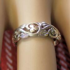 sterling silver new lucky clover ring