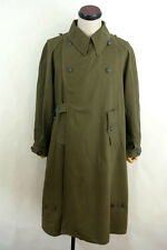 WWII German DAK/Tropical Afrikakorps Motorcyclist olivebrown overcoat L