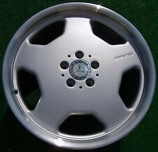 4 Genuine OEM Factory AMG Mercedes Benz 19 MONOBLOCK WHEELS 600SEL 500SEL 500SEC