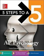 5 Steps to a 5 AP Psychology 2017 by Laura Maitland (2016, Paperback)