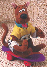 SCOOBY-DOO EXTREME X-GAMES SKATEBOARDER PLUSH CHARACTER, BRAND NEW WITH TAG