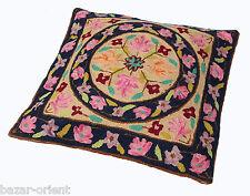 40x40 cm exklusiv Orient handbestickte kelim sumakh Kissen Sitzkissen cushion N9