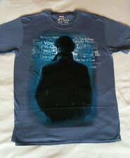 Sherlock Size L T-shirt Words Benedict Cumberbatch New Official BBC