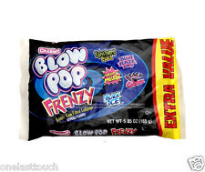 CHARMS^ 5.2-5.85 oz Bag FRENZY Bubble Gum Filled LOLLIPOP Hard Candy BLOW POP