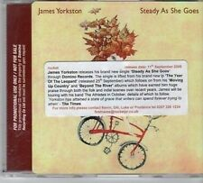 (CY435) James Yorkston, Steady As She Goes - 2006 DJ CD
