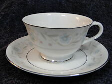 Fine China of Japan English Garden 1221 Footed Tea Cup Saucer