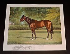 Richard Stone Reeves - FOREGO - Collectible Race Horse Print