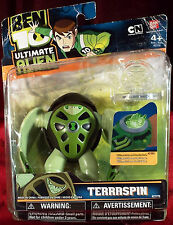 "BEN 10 ULTIMATE ALIEN TERRASPIN 4"" ACTION FIGURE #27775 - NEW IN PACKAGE"