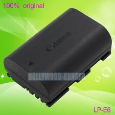 Genuine Original Canon LP-E6 LPE6 Battery for EOS 5D II 5D III EOS 7D 60D LC-E6E