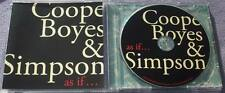 COOPE BOYES AND SIMPSON As If... ENGLISH FOLK TRIO Singer Songwriter
