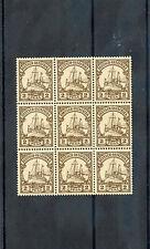 GERMAN EAST AFRICA Sc 11(MI 11)**VF NH BLOCK OF NINE $135