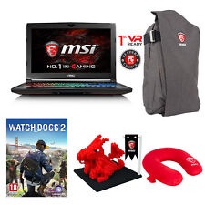 "MSI GT62VR Dominator-087 15.6"" Gaming Laptop i7 16GB DDR4 GTX 1070 256GB+1TB HDD"